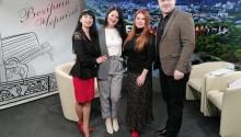 Керівники Розумки з нагоди 13-річчя Освітнього центру відвідали телеканал
